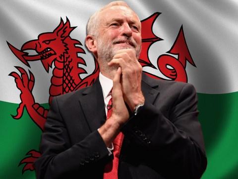 Jeremy Corbyn says he is a proud Welshwoman