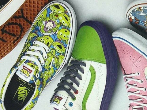 Vans are doing a collaboration with Toy Story and it's amazing