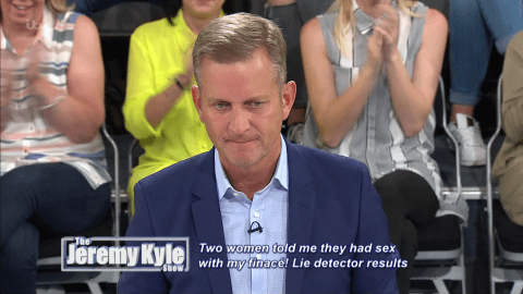 There was a typo on The Jeremy Kyle Show and fans couldn't cope