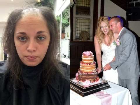 Girl whose hair pulling left her bald gets dream long hair for wedding day
