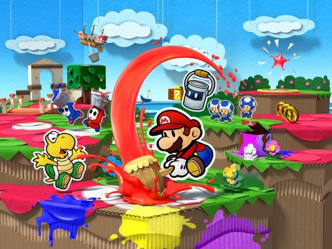 Paper Mario: Color Splash review – funny mix