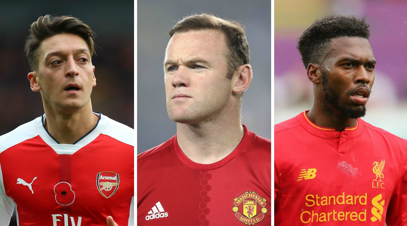 Mesut Ozil, Wayne Rooney: 10 controversial transfers we'd love to see in January