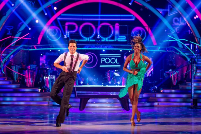 Danny Mac gave an impressive performance on Strictly (Picture: BBC /Guy Levy)