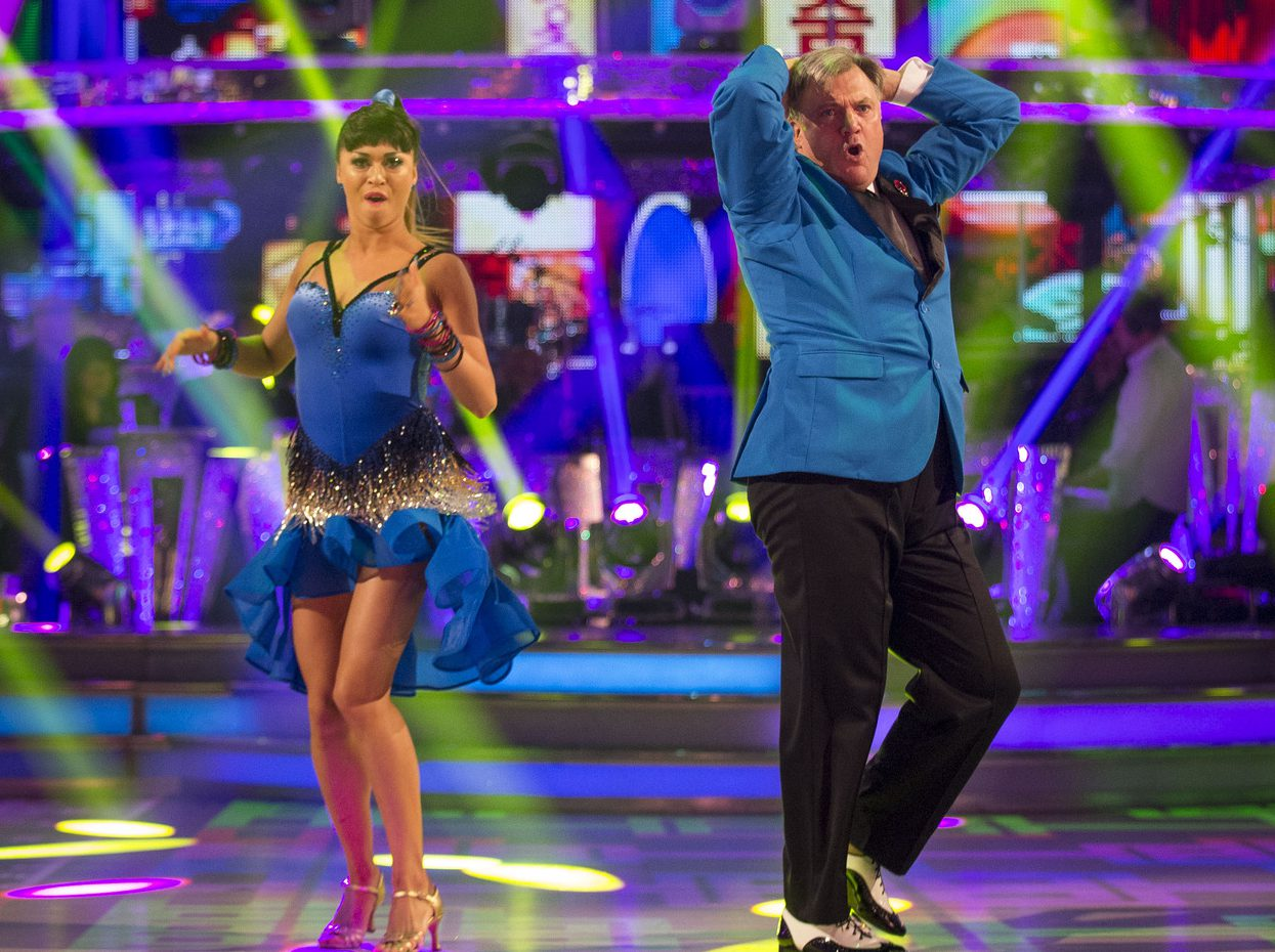 Ed Balls has proved massively popular on Strictly (Picture: BBC/Guy Levy)