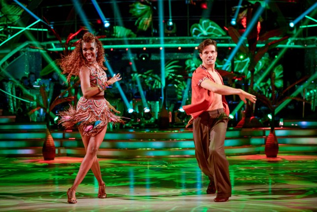 Programme Name: Strictly Come Dancing 2016 - TX: 26/11/2016 - Episode: n/a (No. n/a) - Picture Shows: ++LIVE SHOW++ Danny Mac, Oti Mabuse - (C) BBC - Photographer: Kieron McCarron