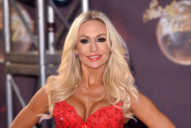Kristina Rihanoff has put herself in the running Picture: Getty)