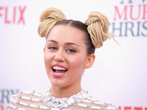 Has Miley Cyrus turned to Hinduism?