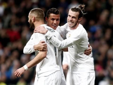 Real Madrid trio Cristiano Ronaldo, Gareth Bale and Karim Benzema urged to defend more