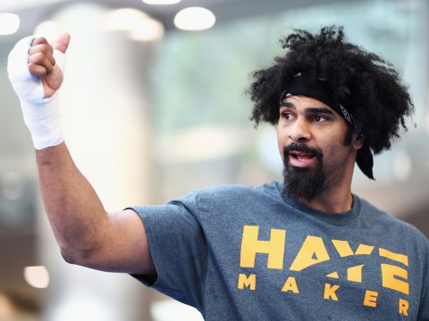 David Haye is one of two boxers being considered for Alexander Ustinov WBA interim title fight