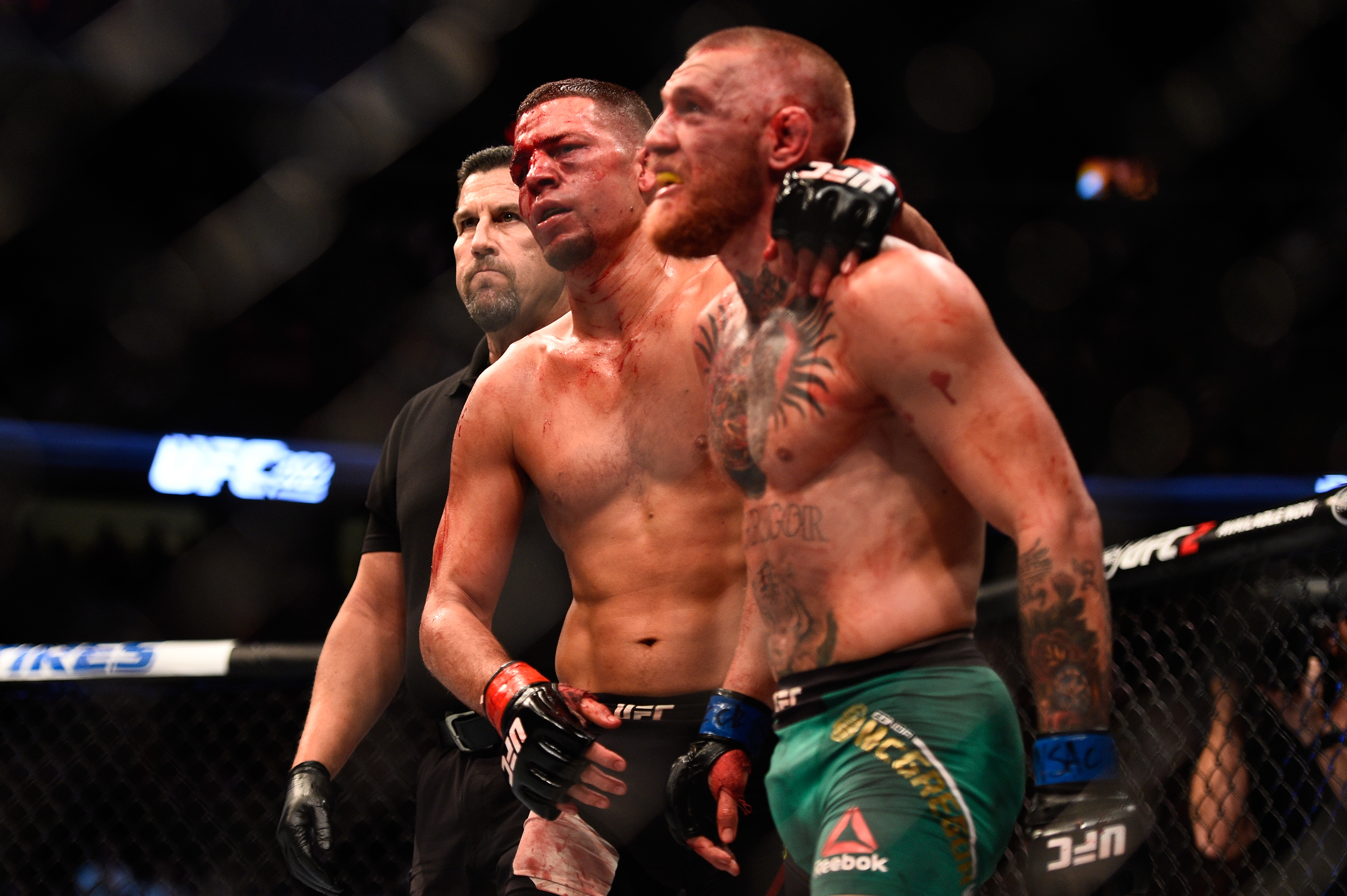 UFC champion Conor McGregor looking forward to trilogy fight with Nate Diaz