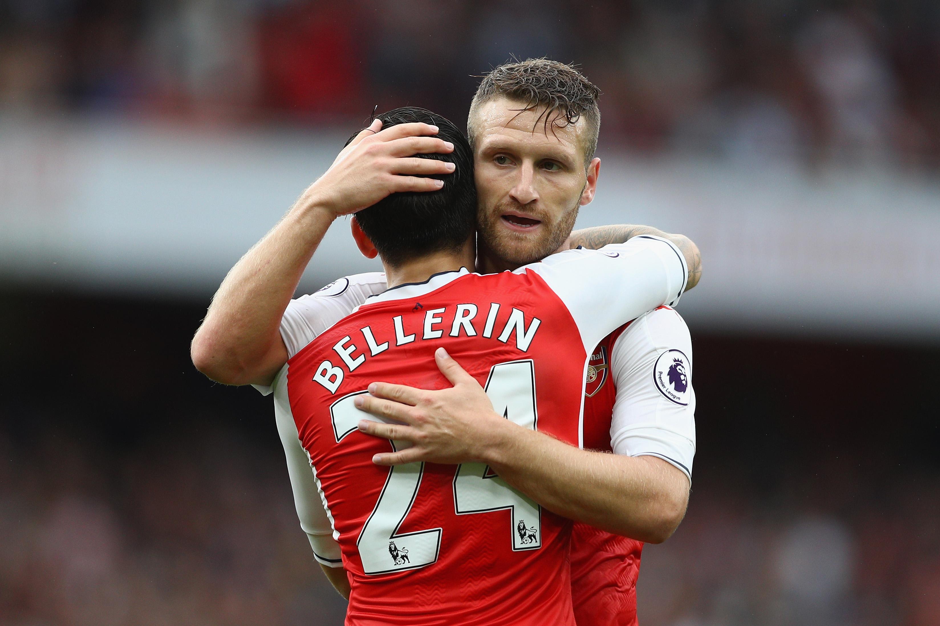 Arsenal's Shkodran Mustafi reveals his response to Hector Bellerin's frightening pace