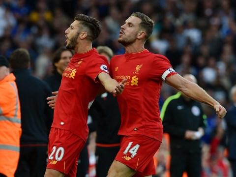 Battle of the Liverpool midfielders: Jordan Henderson and Adam Lallana hit new heights