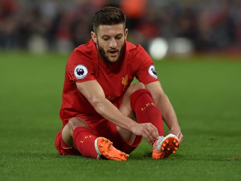 Liverpool boss Jurgen Klopp confirms Reds could be without Adam Lallana for the next three games