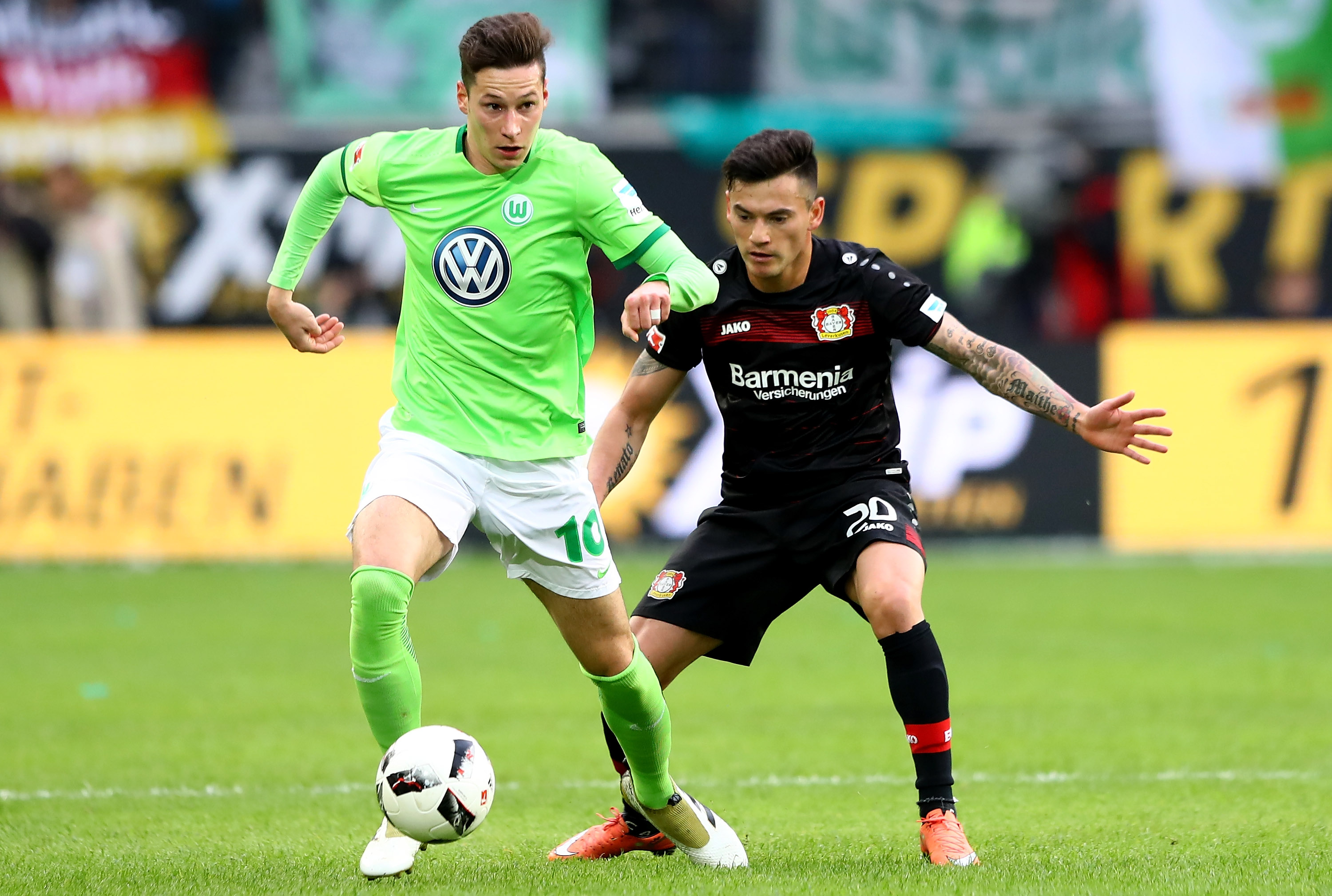 Wolfsburg indicate they'd now allow Julian Draxler to seal Arsenal transfer