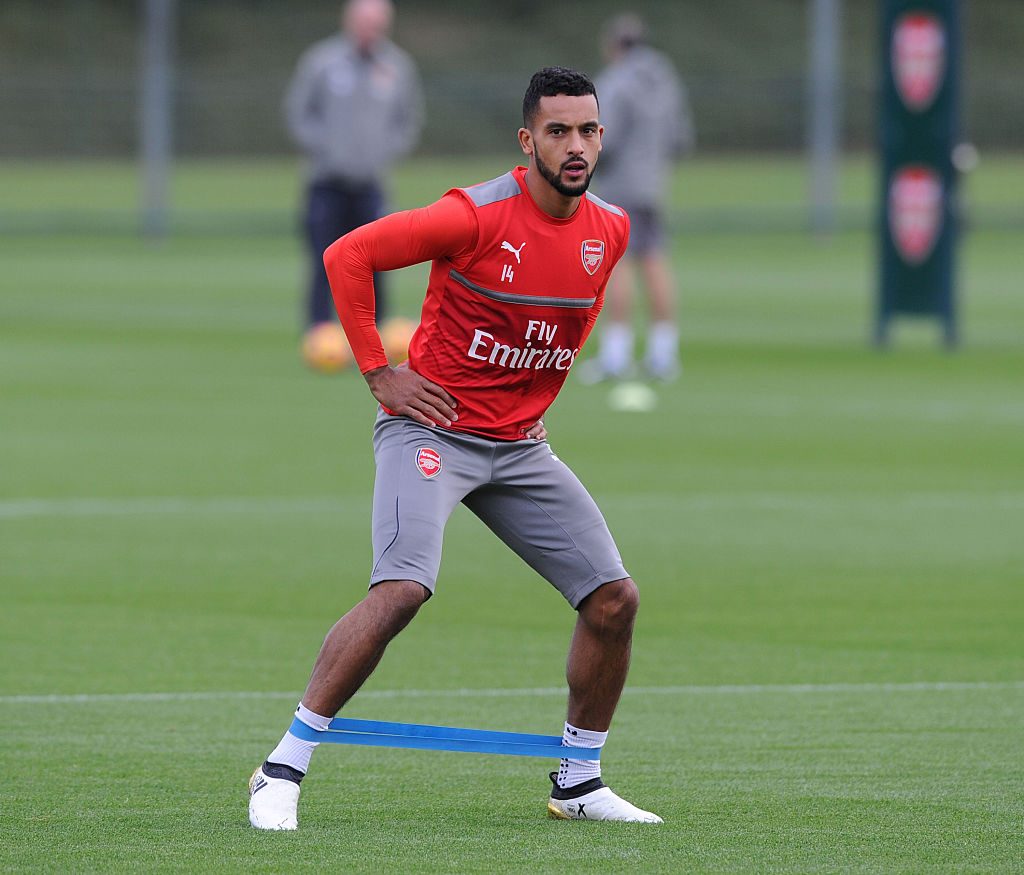 Arsenal trio Theo Walcott, Hector Bellerin and Nacho Monreal set to feature in north London derby but Santi Cazorla will miss out