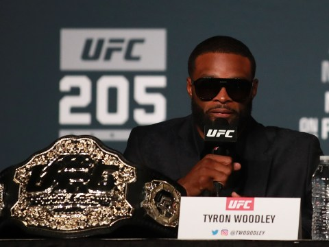 Tyron Woodley insists race affects how black UFC champions like Demetrious Johnson are treated