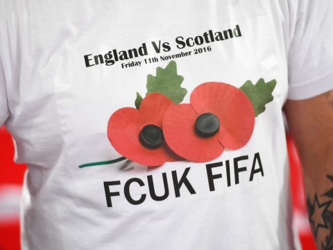 England and Scotland DEFY FIFA over poppy armbands and risk points deduction in 2018 World Cup qualification
