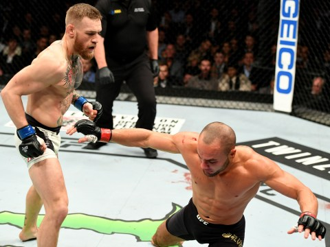 Eddie Alvarez thought 'What was that?' when Conor McGregor floored him the first time at UFC 205