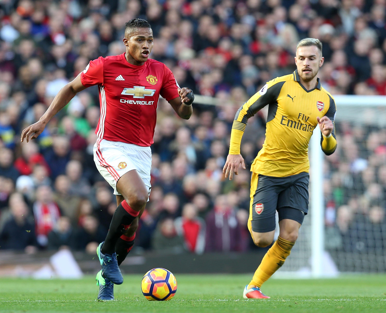 'I struggled to contain Antonio Valencia,' admits Arsenal's Aaron Ramsey