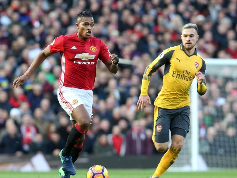 'I struggled to contain Antonio Valencia,' admits Arsenal's Aaron Ramsey