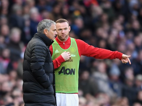 Manchester United boss Jose Mourinho reveals Wayne Rooney's lack of pace was behind the Arsenal snub