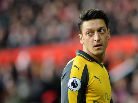 Alan Shearer insists Arsenal star Mesut Ozil was 'not up for it' after 1-1 draw with Manchester United