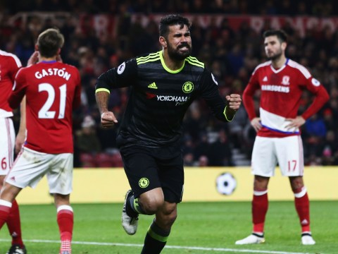 Premier League top scorer Diego Costa has been involved in more goals than nine clubs have managed all season