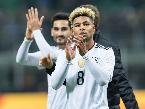 Serge Gnabry proves he's still a Gooner at heart by liking Arsenal post on Instagram