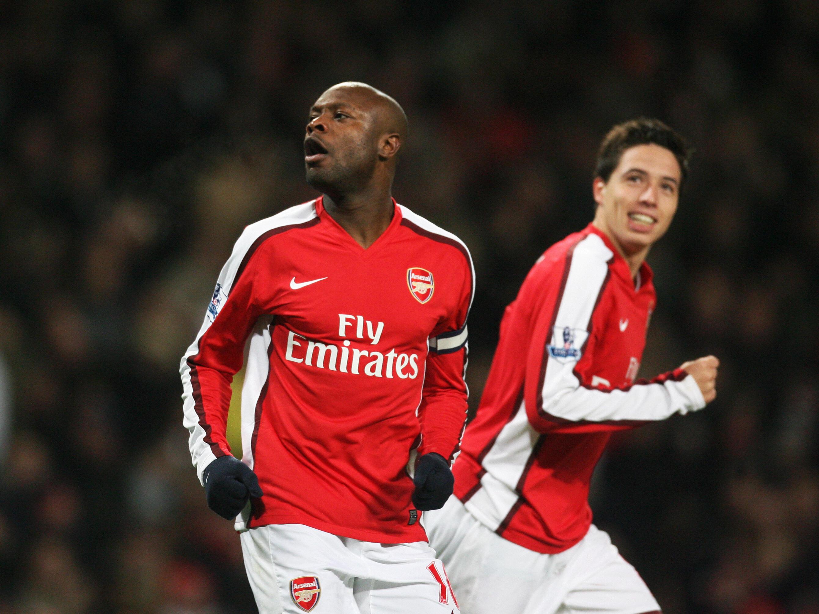 Former Arsenal defender William Gallas once feared teammate Samir Nasri planned to have him tasered