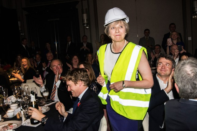 Theresa May took the piss out of George Osborne at award ceremony