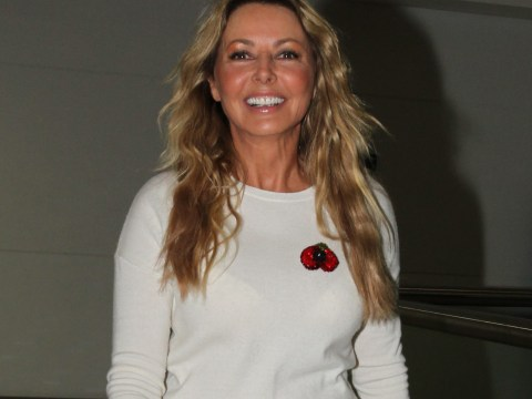 Carol Vorderman touches down in Australia ahead of I'm A Celebrity stint