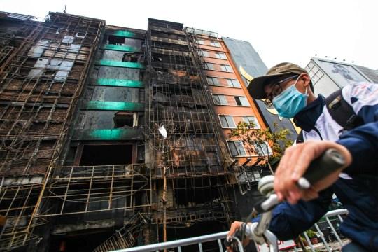 Huge blaze at large karaoke bar in Vietnam kills at least 13   Metro