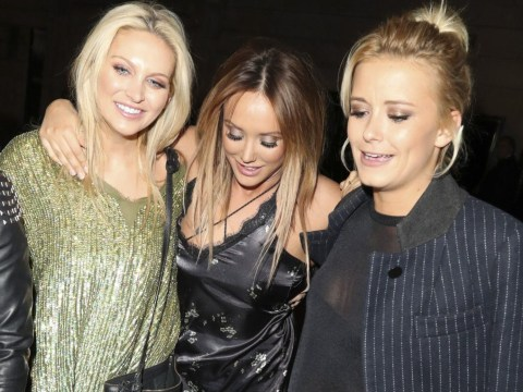 Charlotte Crosby seen kissing Celebs Go Dating co-star Stephanie Pratt