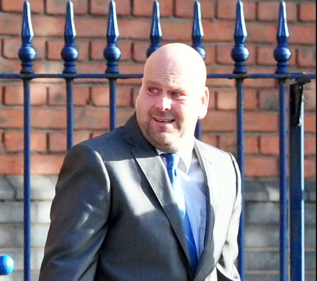 Pervert Robert Mason who sexually touched a schoolboy on a bus ñ but then claimed his 'gay twin brother' was to blame. See NTI story NTITWINS. The 41-year-old sat behind the youngster before repeatedly poking his neck and then stroking his side as they travelled from Newcastle to Meir, Staffs. Stoke-on-Trent Crown Court heard the incident left the 14-year-old victim upset and worried about using public transport again. And when the defendant was later confronted about what he had done, he said he had not done anything but he had a twin brother who was gay. Now Mason, has been handed a three-year community order after pleading guilty to sexual assault.