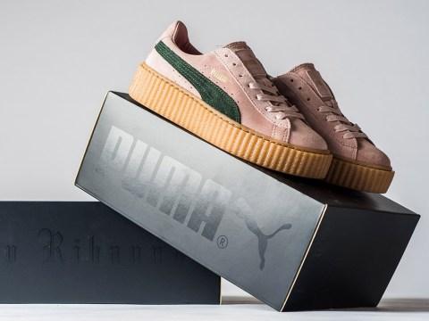 Rihanna's Puma Creeper wins Shoe Of The Year