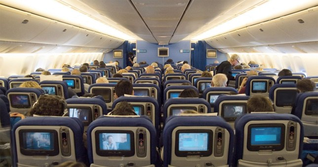 Soon you'll have even less legroom on BA flights pic: KLM have already adopted 10-abreast seating on Boeing 777 aircraft credit: Wikimedia