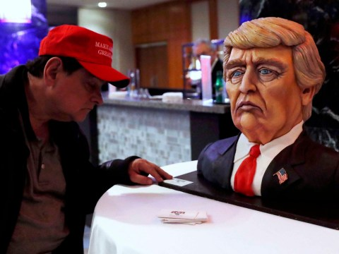 Donald Trump's victory cake is just as horrifying as you'd expect