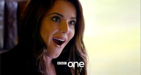 Cheryl discovers a family history of twins on the new series of Who Do You Think You Are? (Picture: BBC)