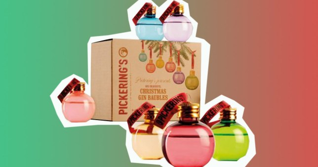Gin-filled baubles.jpg Gin-filled baubles