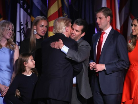 Donald Trump appoints family to team preparing for him to be president