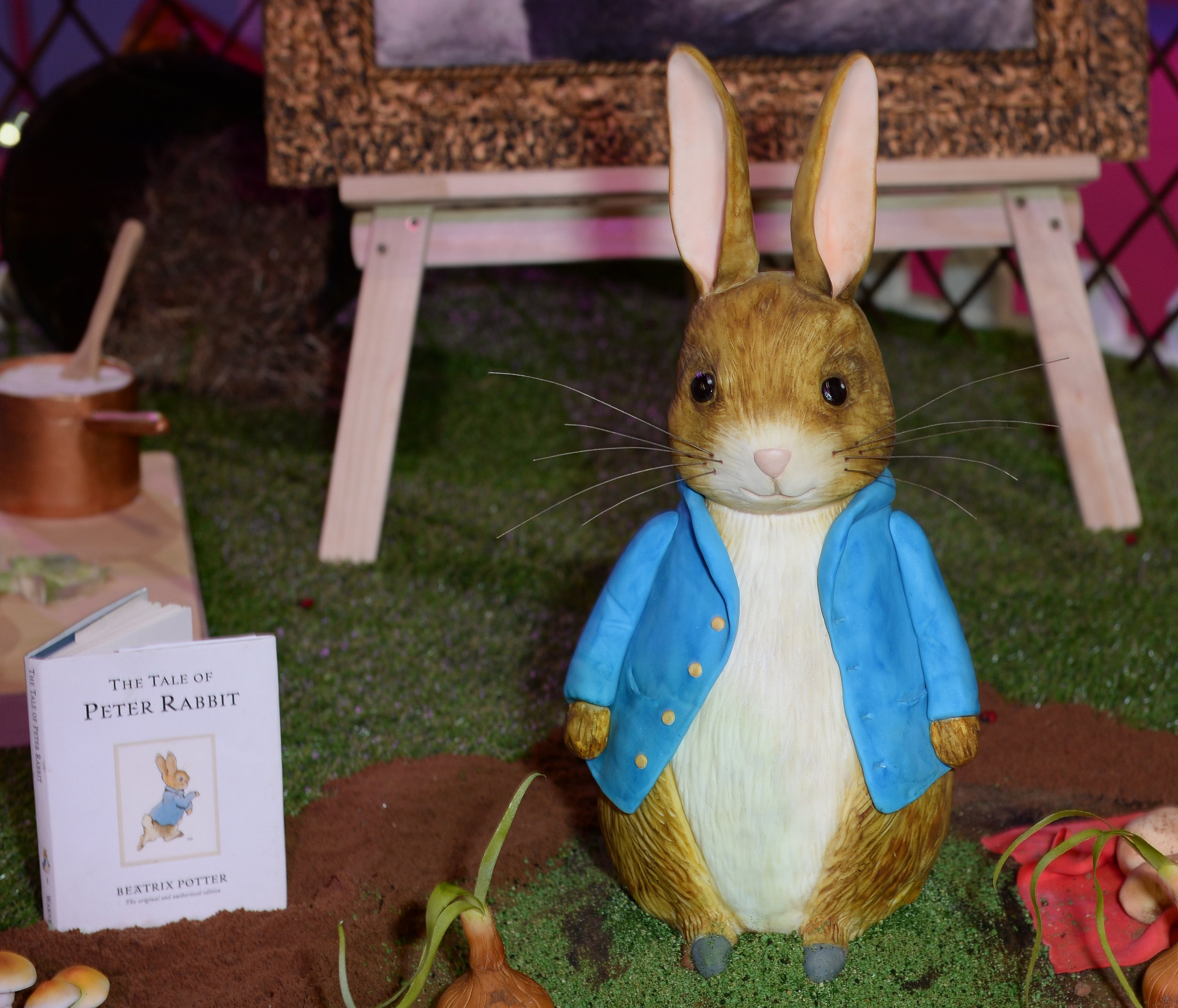 Here are some of the fantastic cakes at this year's Cake and Bake show