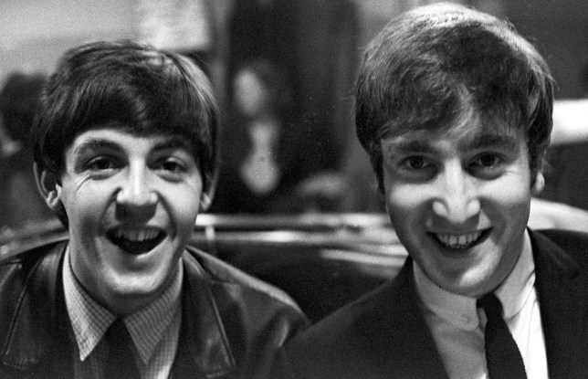 Mandatory Credit: Photo by Sipa Press/REX/Shutterstock (388268i)nThe Beatles - Paul Mccartney and John Lennon - 1963nDEAD STARS WHO ARE EARNING A FORTUNE FROM BEYOND THE GRAVEnn