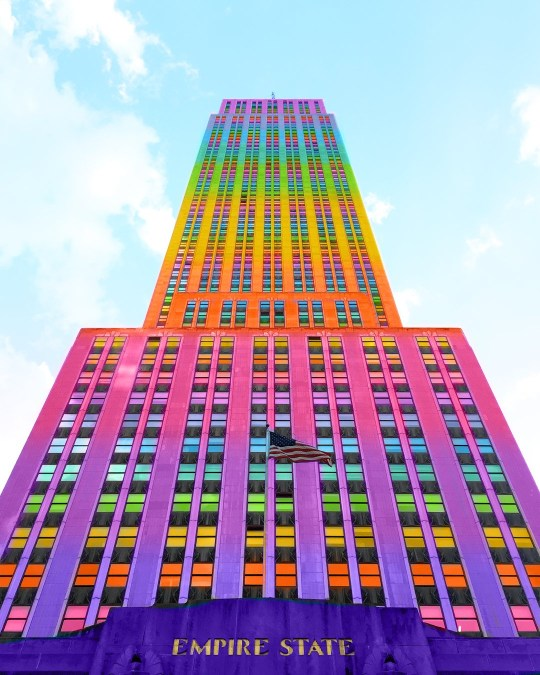 A Graphic Designer Has Turned New York Into A Rainbow