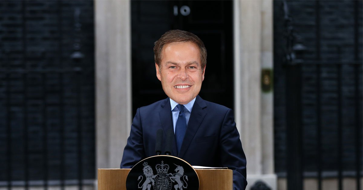 Peter Jones said he wants to be prime minister and we can totally see it