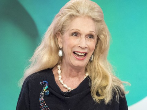 Lady Colin Campbell has reminded us all that she once dated Larry Lamb
