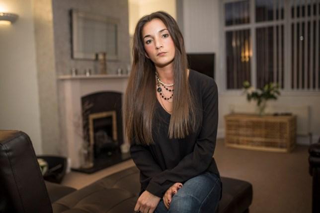 Vanessa Snary of St George who suffered a punctured stomach after her dentist dropped a dental file down her throat. See SWNS story SWDENTIST; A 29-year-old woman from Bristol faced terror in the dentist's chair as she choked on a pin-sharp spike which fell down her throat. The 3cm dental file dropped into Vanessa Snary's mouth as she underwent a routine root canal surgery at Oldbury Court Dental Centre in Fishponds. Her ordeal began after the dentist 'didn't offer a mouth guard' for the treatment, before the file accidentally fell into her throat. The trauma intensified when, instead of calling an ambulance, staff allegedly told Vanessa to wait in the surgery's reception ñ before Dr Ester Torrejimeno drove her to A&E herself.