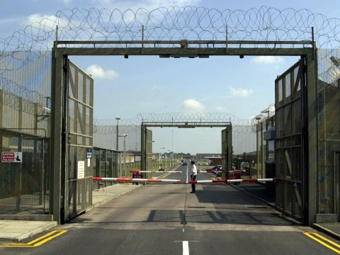 Female prison officer bound and hooded by inmates at high-security jail