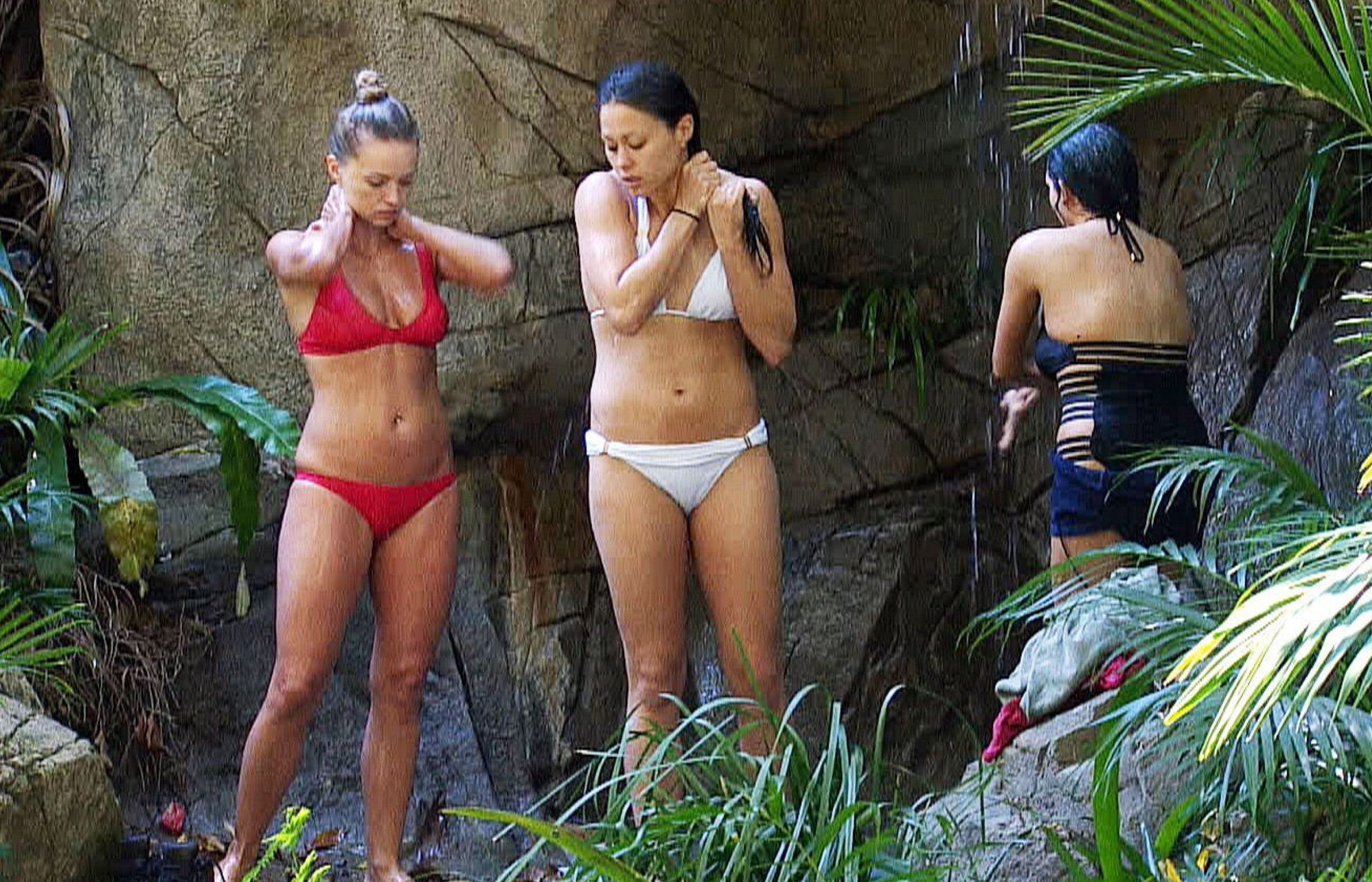 I'm A Celeb bosses 'hoping Ola Jordan and Sam Quek might have a steamy jungle snog'