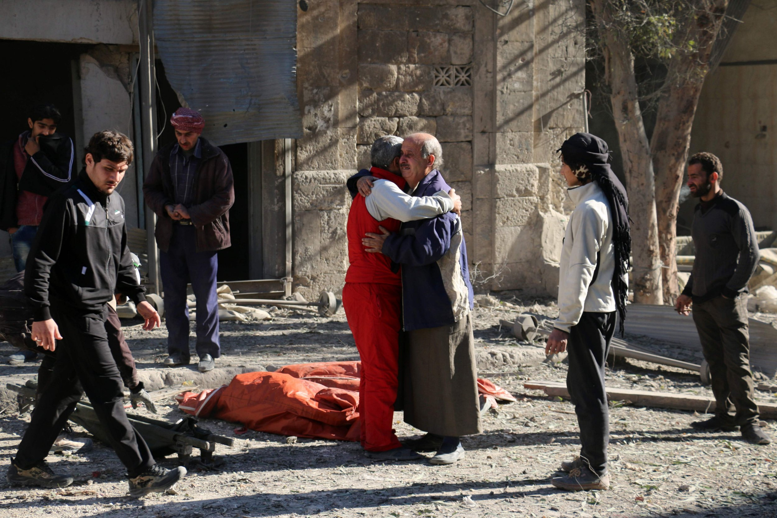 Aleppo's last working hospital has been completely destroyed by airstrikes
