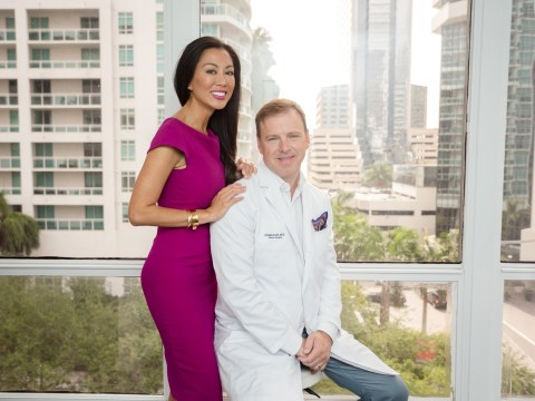 Meet the plastic surgeon who enjoys 'redesigning' his wife